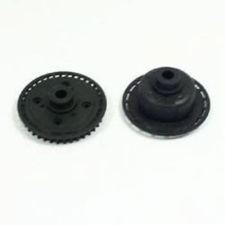 Hobao H4 differential case and pulley