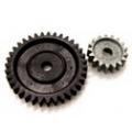 08033 - Gear (35 Teeth) & Gear 2 (17 Teeth)