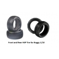 HSP Tire for Buggy 1/10 ( Front and Rear )