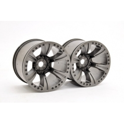 94074 - HYPER MT PLUS WHEEL-GREY, 2PCS