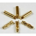4mm Golden Plated Connector (3 pairs)