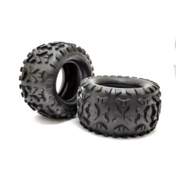 BT-503, HYPER MT PLUS TIRE WITH FOAM, 2PCS