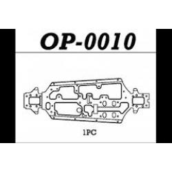 HYPER SS LIGHT WEIGHT CNC CHASSIS 4MM ( OP-0010 )