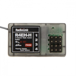 Receiver R4EH-H suitable for radiolink RC3S and RC4G transmitter