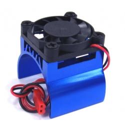 540 Motor Heat Sink W/Fan (BU)