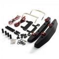 Front Rear Bumper W/Heavy Duty Shackle W/LED Set For Axial SCX10 (YA-0382)
