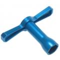 Yeah Racing 17mm Wheel Nut Wrench Aluminum (BU) #YT-0072BU