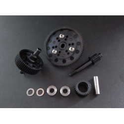 option hardened center gear box gear set fits Axial SCX10