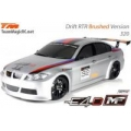 Team Magic E4D MF RTR Brushed BMW 320 Body