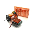 SkyRC CHEETAH 1/10 60A 8.5T 4000kv Sensored Motor COMBO Power System