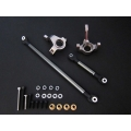 option Aluminum steering block & linkage fits Axial SCX10