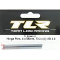Team Losi Racing 4x66mm TiCn Inner Hinge Pin (2)